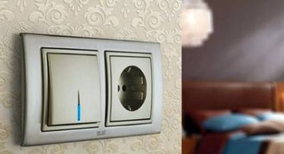 розетки и выключатели фото в интерьере