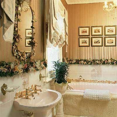Оформление ванной своими руками