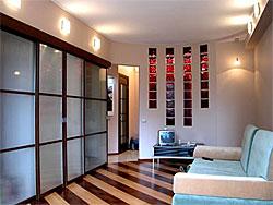 Перепланировка однокомнатной квартиры - дизайн Елены Медведевой