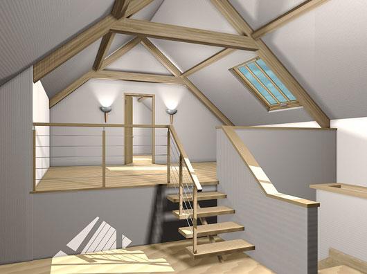 При утеплении кровли будущей мансарды сразу на этапе строительства дома можно снизить общие теплопотери.