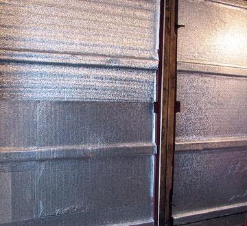 Чем утеплить металлические ворота гаража куплю гаражи в сызрани