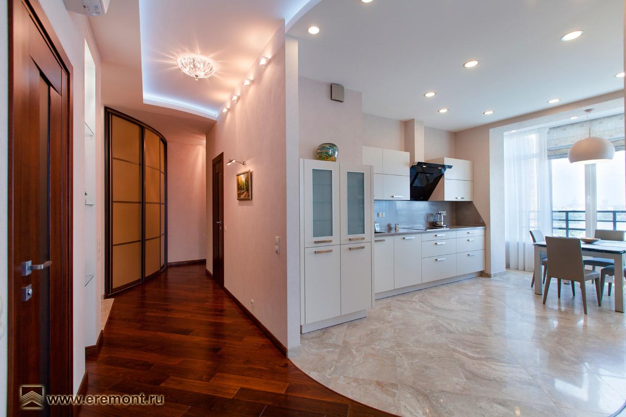 «Квартира в ЖК Янтарный город. Прихожая»