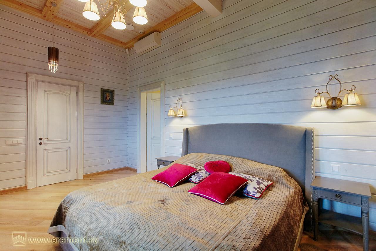 Стены деревянные крашенные в интерьере фото