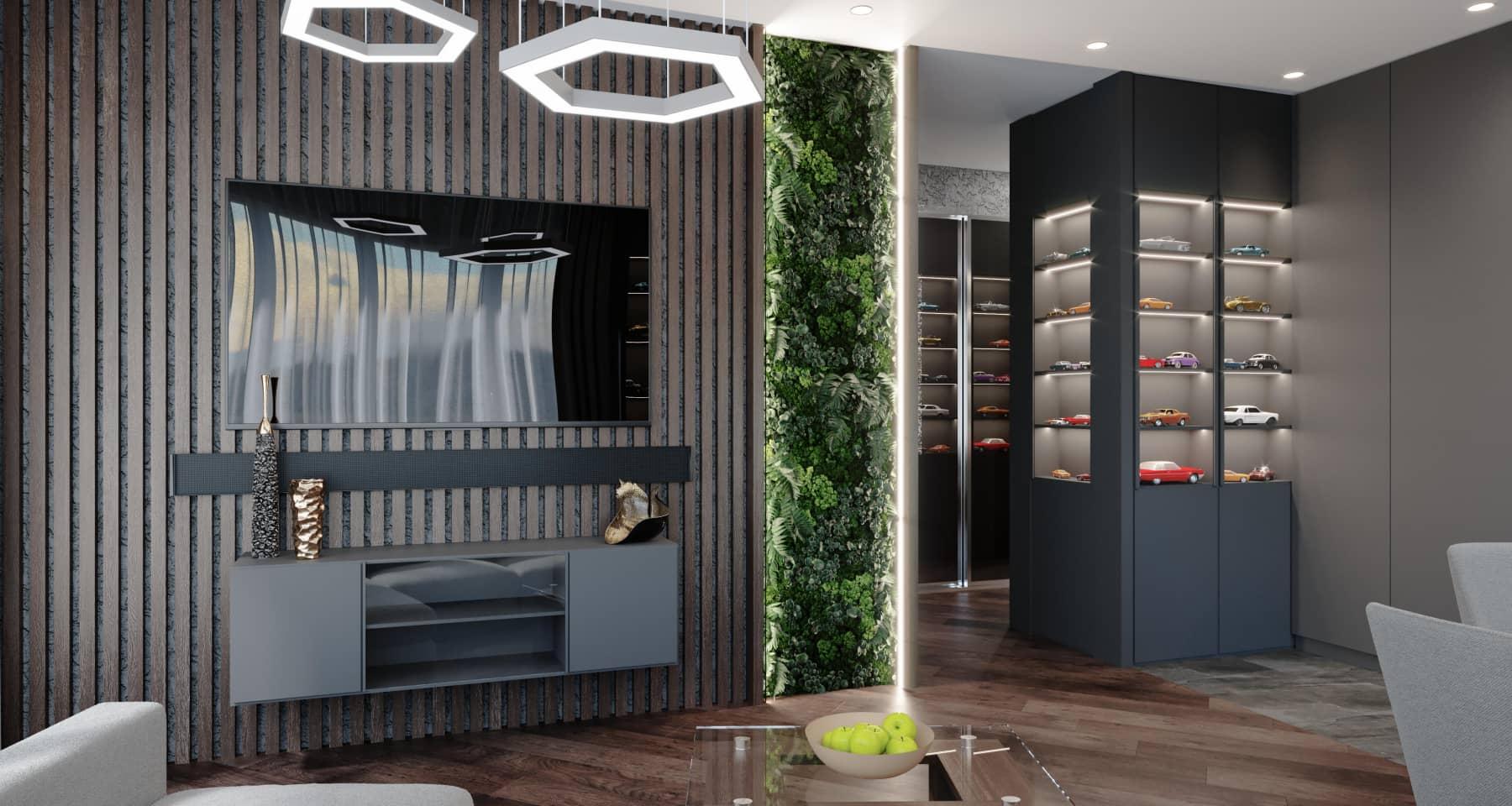 Дизайн и ремонт квартиры в ЖК «Сердце столицы»
