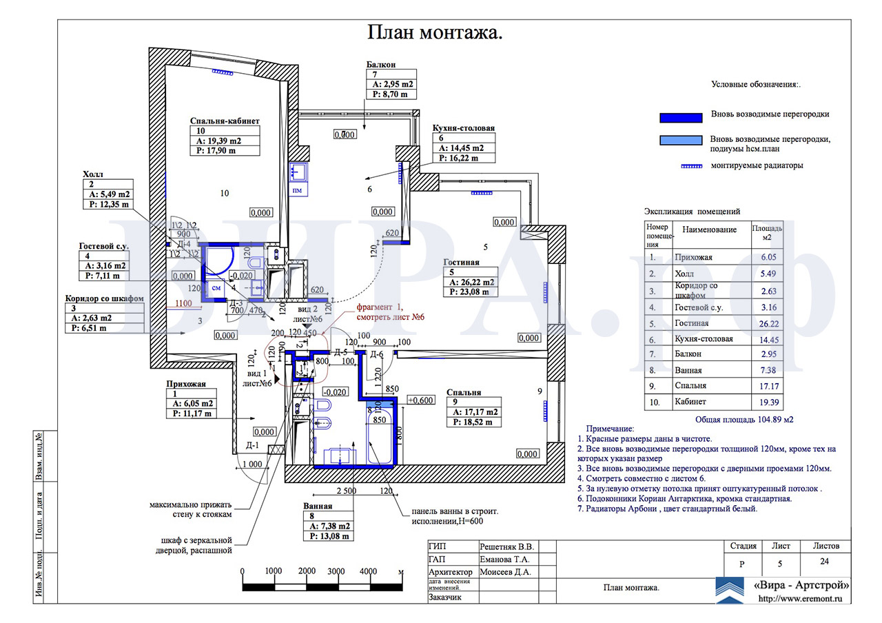 """Дизайн и ремонт квартиры в жк Янтарный город от компании """"ви."""