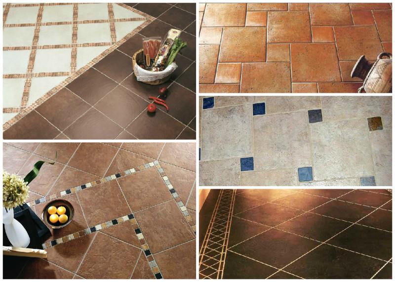 виды укладки плитки из бетона