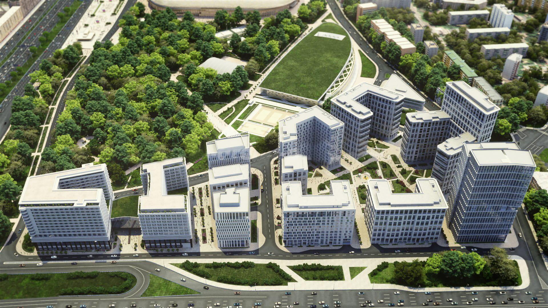 Современный ремонт квартир «под ключ» в ЖК «ВТБ Арена Парк» от ...