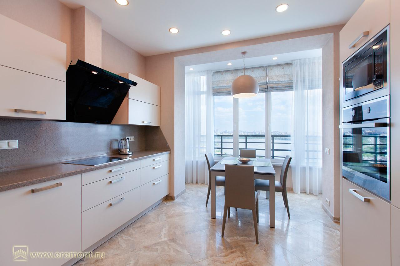 ЖК «Янтарный город» - Семейное гнездышко. Кухня-столовая