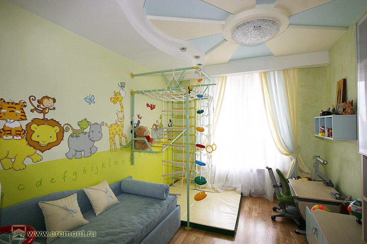 Ремонт детской комнаты во владимире.