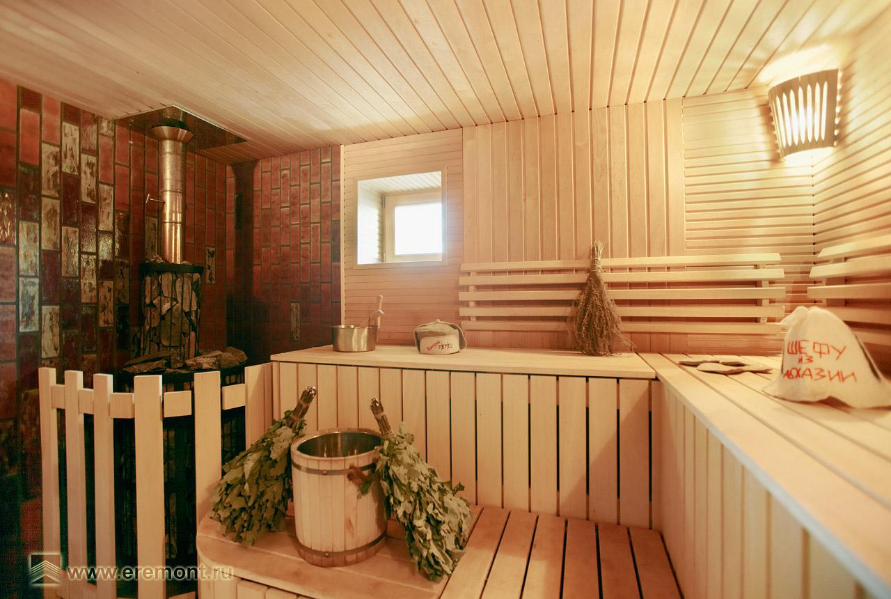 Внутренняя отделка в доме из бруса фото