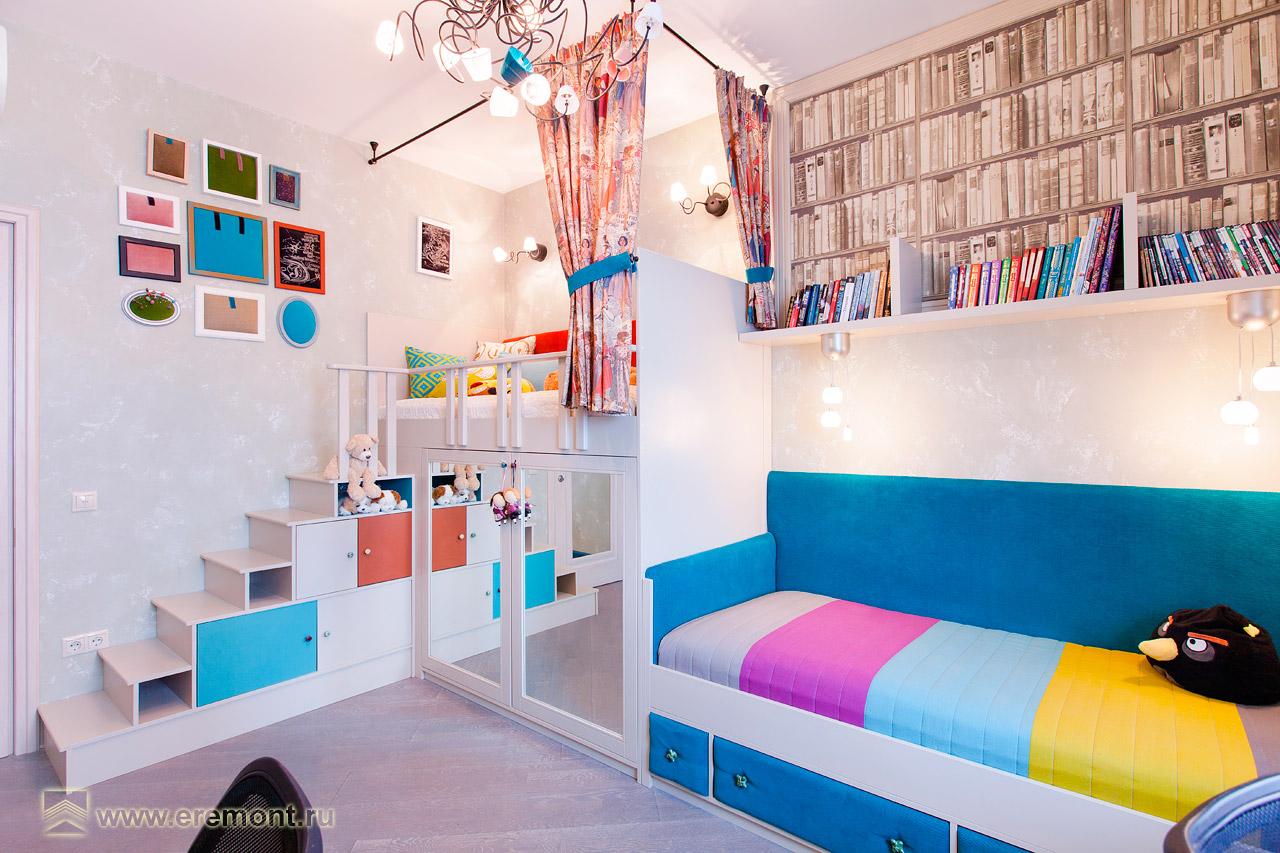 дизайн детской комнаты от 8 лет походе
