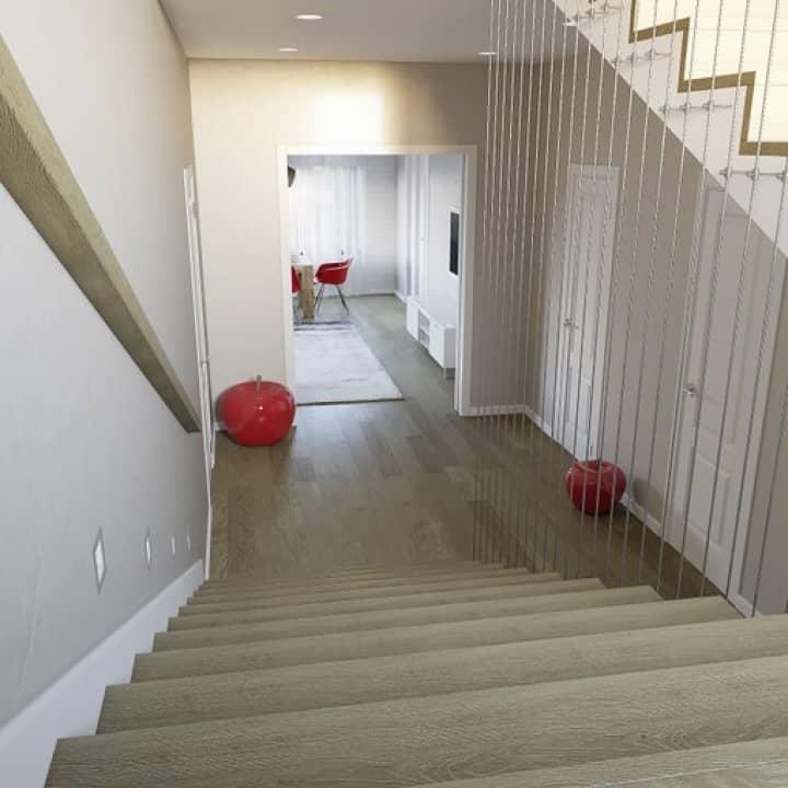 Холл-лестница