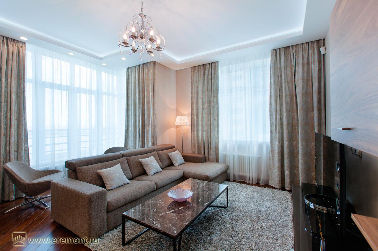 ЖК «Янтарный город» - Семейное гнездышко. Гостиная